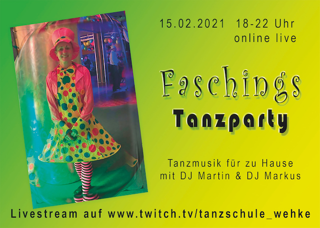 Faschingstanzparty